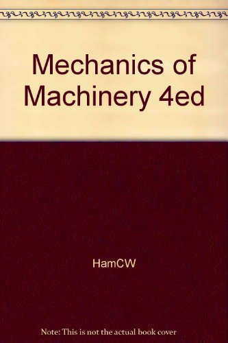 9781114368699: Mechanics of Machinery 4ed