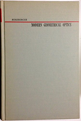 9781114379947: Modern Geometrical Optics