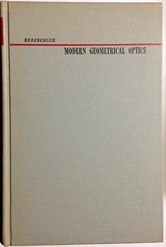 9781114379947: Modern geometrical optics (Pure and applied mathematics)