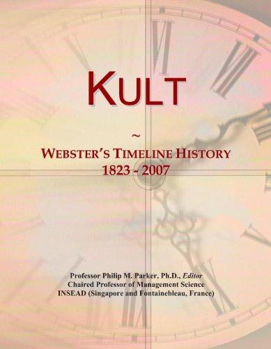 9781114420441: Kult: Webster's Timeline History, 1823 - 2007