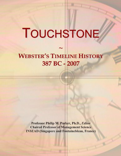 9781114440173: Touchstone: Webster's Timeline History, 387 BC - 2007