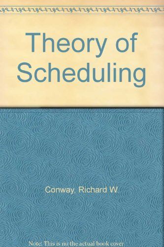 9781114499164: Theory of scheduling
