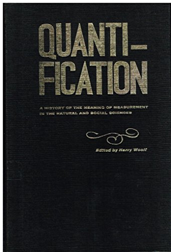 Quantification a History of the Meaning: Woolf, Harry