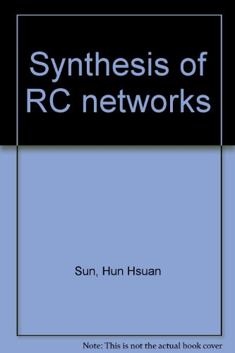 9781114587007: Synthesis of RC networks