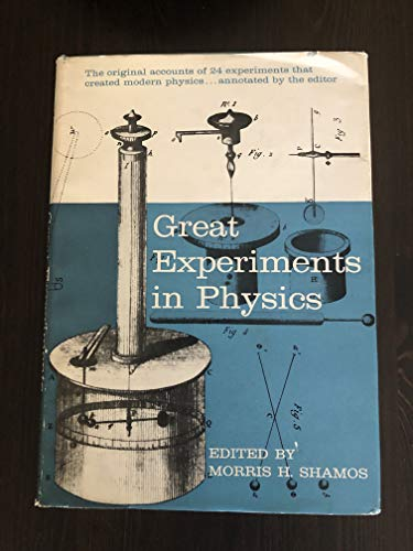 9781114685291: Great experiments in physics