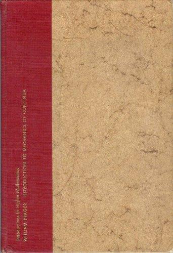 9781114699243: Introduction to Mechanics of Continua