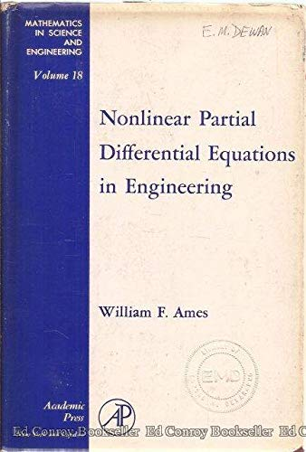 9781114790308: Nonlinear Partial Differential Equations in Engineering