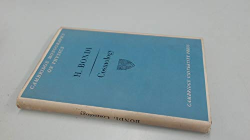 9781114800243: Cosmology (Cambridge monographs on physics)