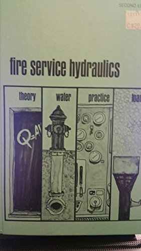 9781114807709 Fire Service Hydraulics 2ND Edition