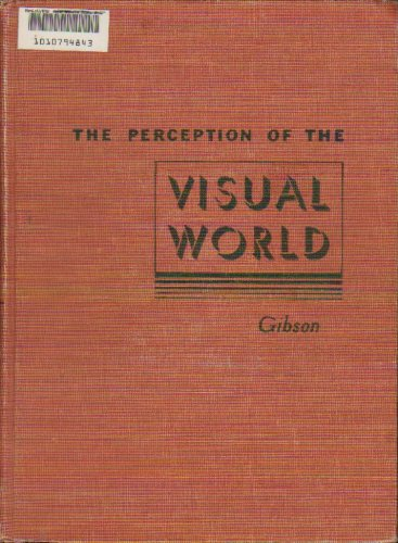 9781114828087: The Perception of the Visual World