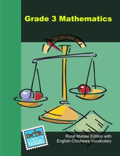 9781114872035: Grade 3 Mathematics: Rural Malawi Edition in English with English-Chichewa Vocabulary