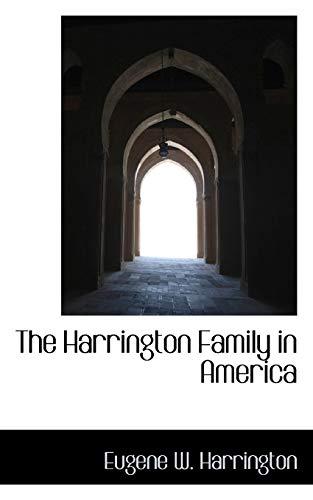 9781115013512: The Harrington Family in America