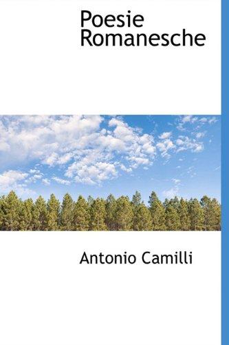 Poesie Romanesche: Camilli, Antonio