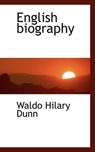 English biography (9781115198424) by Dunn