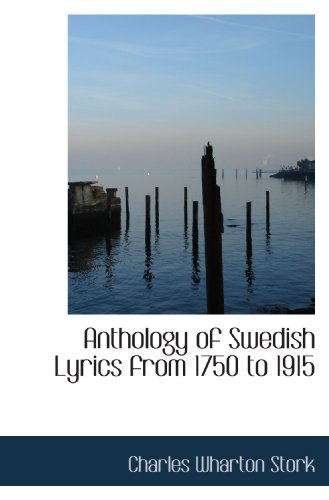 9781115221702: Anthology of Swedish Lyrics from 1750 to 1915