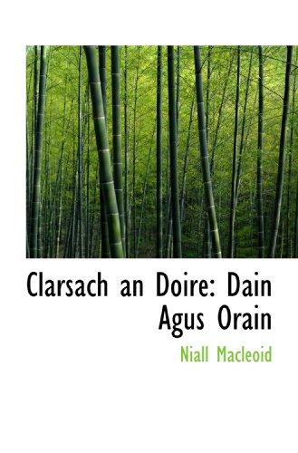 9781115249218: Clarsach an Doire: Dain Agus Orain