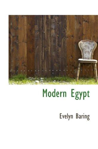9781115267151: Modern Egypt