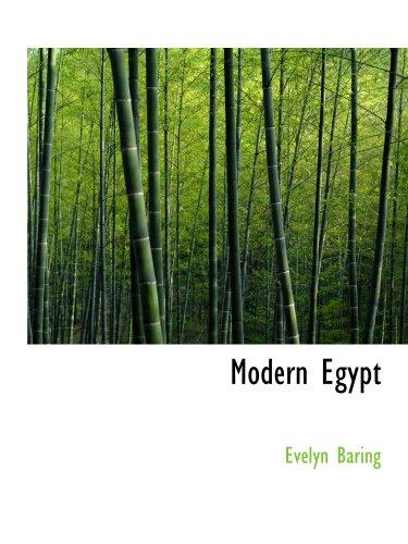 9781115267168: Modern Egypt