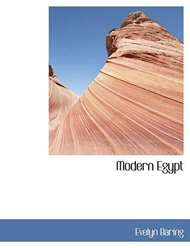 9781115267182: Modern Egypt
