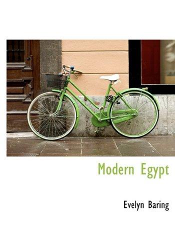 9781115267205: Modern Egypt