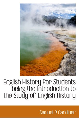 9781115273237: English History for Students being the Introduction to the Study of English History