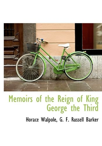 9781115330268: Memoirs of the Reign of King George the Third