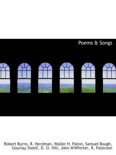 Poems & Songs: Robert Burns/ R.