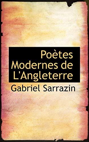 9781115361491: Poètes Modernes de L'Angleterre