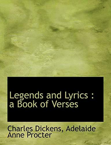9781115371193: Legends and Lyrics: a Book of Verses