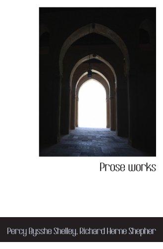 9781115372770: Prose works