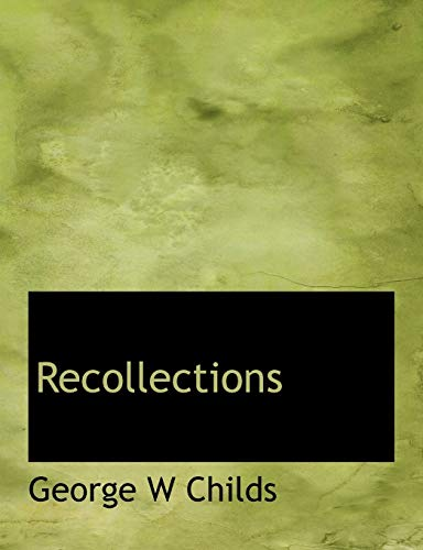 9781115383059: Recollections