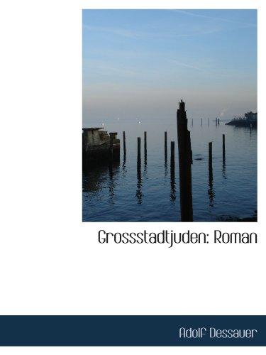 9781115523714: Grossstadtjuden: Roman (German Edition)