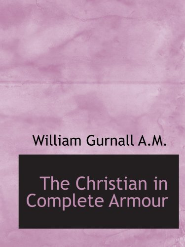 9781115666688: The Christian in Complete Armour