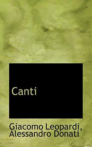 9781115670609: Canti
