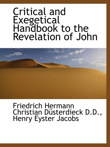 9781115701532: Critical and Exegetical Handbook to the Revelation of John