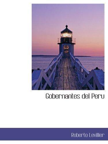 9781115743389: Gobernantes del Peru (Spanish Edition)