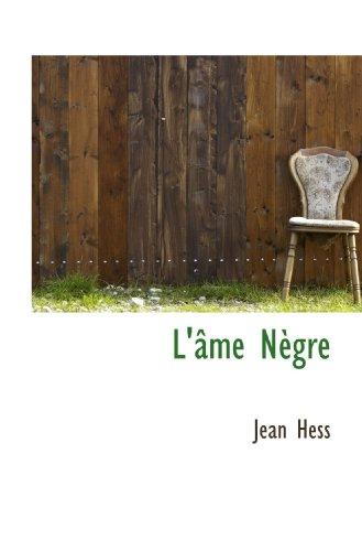 9781115904704: L'âme Nègre
