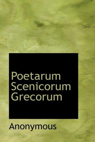 Poetarum Scenicorum Grecorum: Anonymous