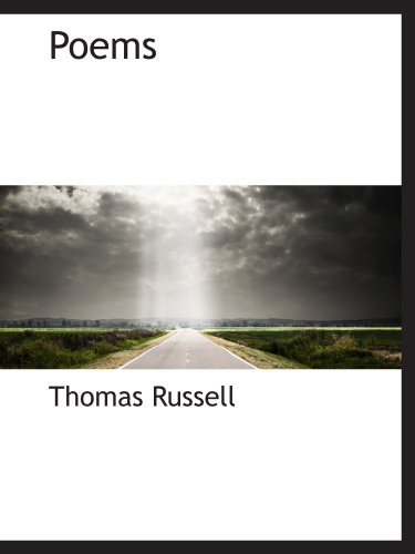 Poems (1115963856) by Thomas Russell