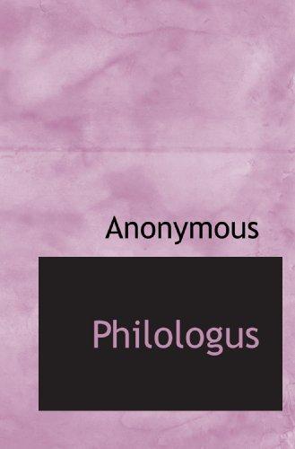 9781115971003: Philologus (German Edition)
