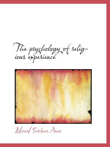 9781116007213: The psychology of religious experience