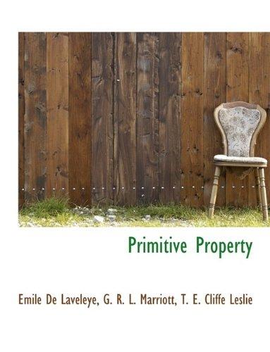 Primitive Property: Emile De Laveleye