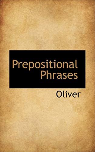 9781116015522: Prepositional Phrases