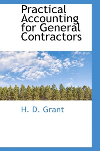 9781116017526: Practical Accounting for General Contractors