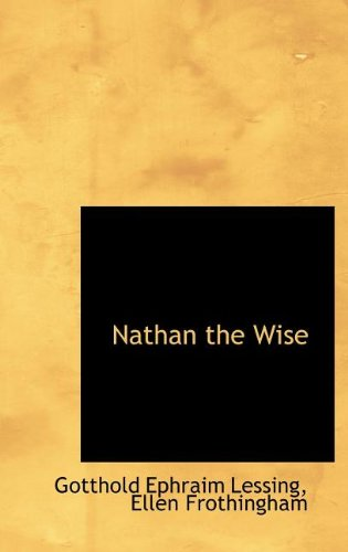 9781116049947: Nathan the Wise