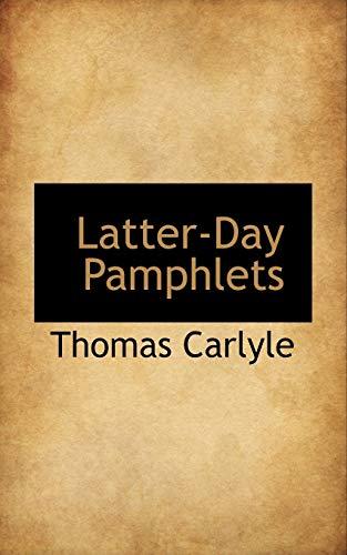 9781116057300: Latter-Day Pamphlets