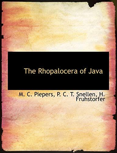 9781116103656: The Rhopalocera of Java