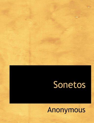 9781116124682: Sonetos