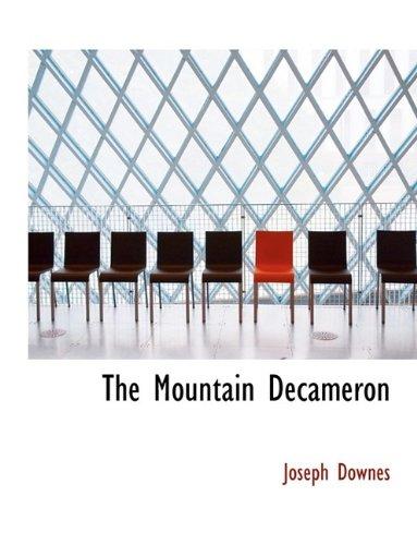 9781116127904: The Mountain Decameron