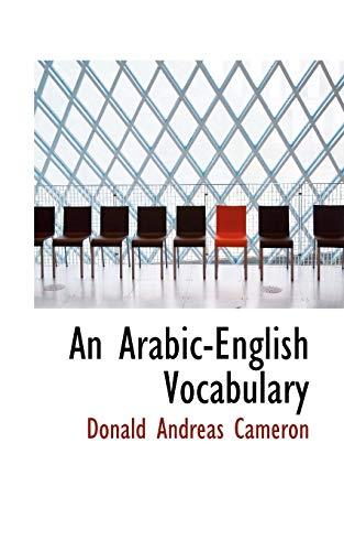 9781116153217: An Arabic-English Vocabulary